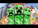 НЯША КРИПЕР Майнкрафт Клип Minecraft Parody Song of PSY's Daddy