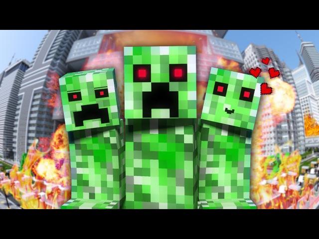 НЯША КРИПЕР - Майнкрафт Клип | Minecraft Parody Song of PSYs Daddy