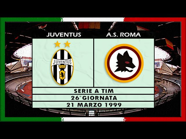 Serie A 1998-99, g26, Juve - AS Roma