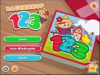 Bauernhof 123 - Kindergartenkinder App zum Zahlen lernen