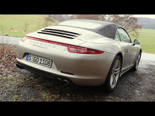 ' 2013 Porsche 911 (991) Carrera 4/4S ( Manual ) ' Test Drive Review - TheGetawayer