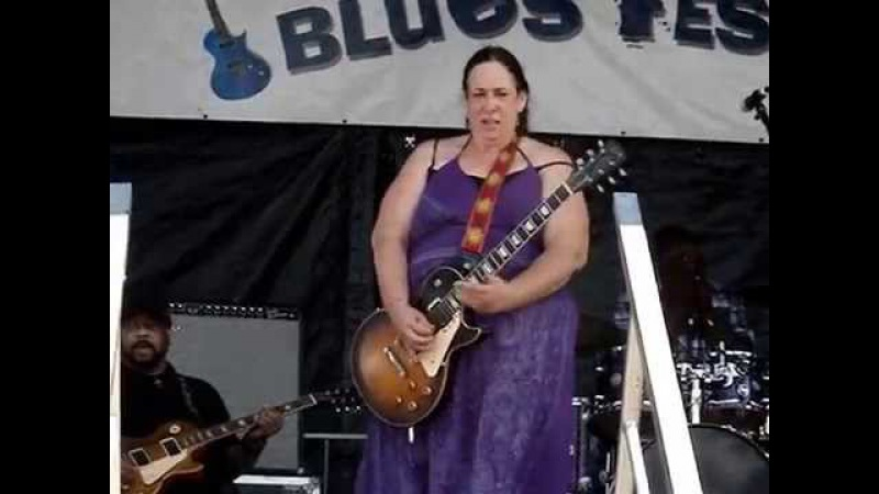 Joanna Connor Video By Sodafixer North Atlantic Blues fest 2014 Awesome Slide
