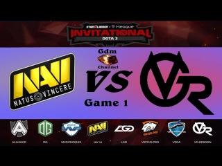 Na'Vi vs VG-R, 1 игра,  Starladder | i-League Invitational - 15.04.2016 [RU]
