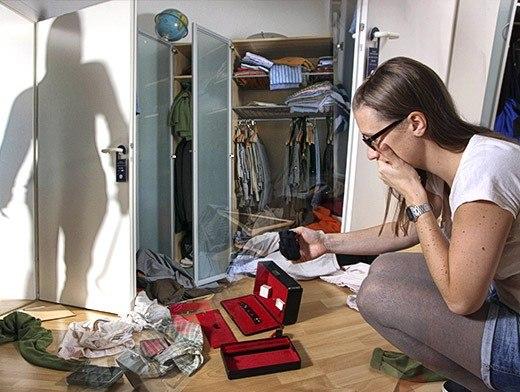 В Таганроге произошла очередная серия крупных квартирных краж