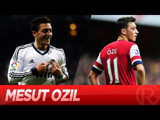 Mesut Ozil - Real Madrid vs Arsenal