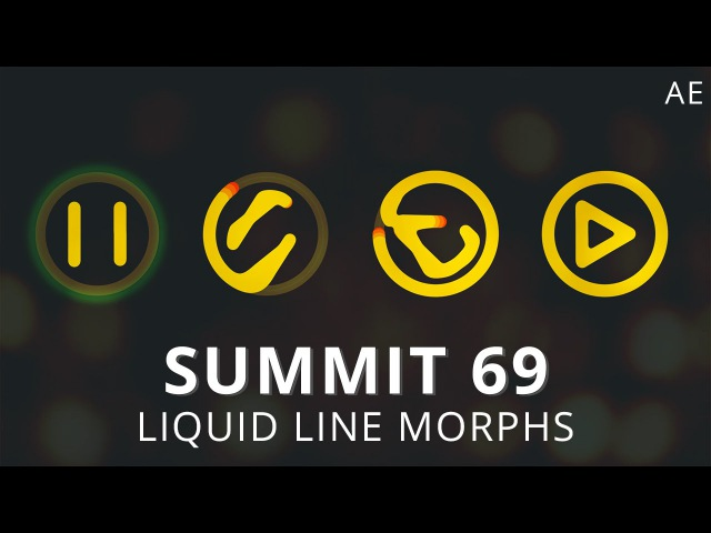 Summit 69 - Liquid Line Morphs - After Effects