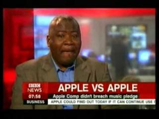 BBC News 24 error, interview job applicant (not taxi driver)