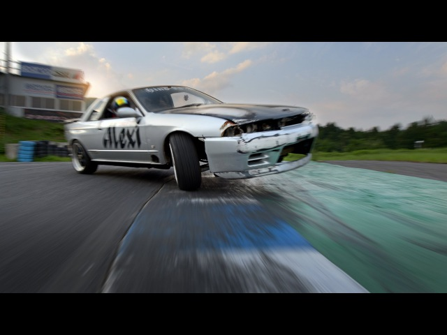 Fixing and drifting a Skyline at Ebisu Circuit Noriyaro Ep 3