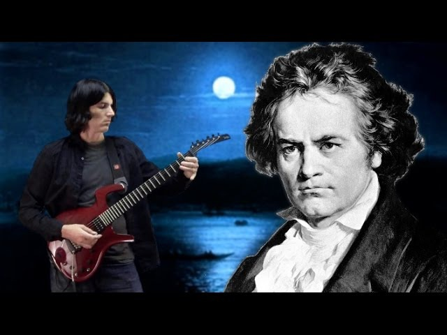 'Moonlight Sonata' 3rd Movement Guitar Dan Mumm Classical Metal Ludwig Van Beethoven