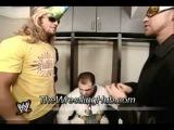 Edge and Christian Play Music on a Kazoo - Hilarious