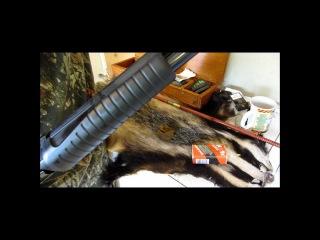 Pump action shotgun 12g Hatsan Escort, shoot & field strip.