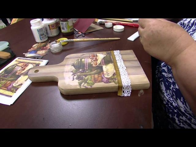 Decoupage com Pintura Imitando Madeira por Rose Rodrigues - 02/09/2015 - Mulher.com