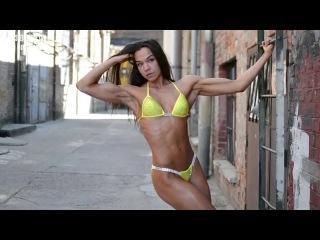 Nora Lauko Fitness Model Photoshooting Video Part 4.
