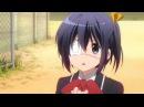 Chuunibyou demo Koi ga Shitai! Rikka's 'ow' scenes. Cute! :3