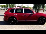 Porsche Cayenne S, Cayenne Red, Custom Stereo - Walk Around and Review