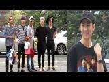 [SSTV 영상] 갓세븐(GOT7)-샤이니-B1A4-배치기-유승우, 내추럴한 사복 패션~ '어울리쥬?' (뮤직뱅크 출근길)