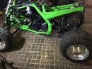 Yamaha Raptor YFM 700 Conversion and FMF Exhaust Test