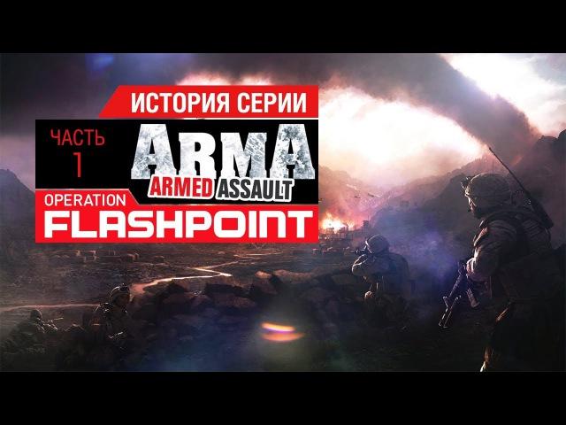 История серии Operation Flashpoint, часть 1