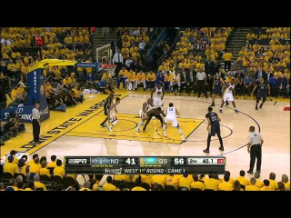 NBA Recap Golden State Warriors vs New Orleans Pelicans | Western Conference | 2015 NBA Playoffs [Rhymes & Punches]