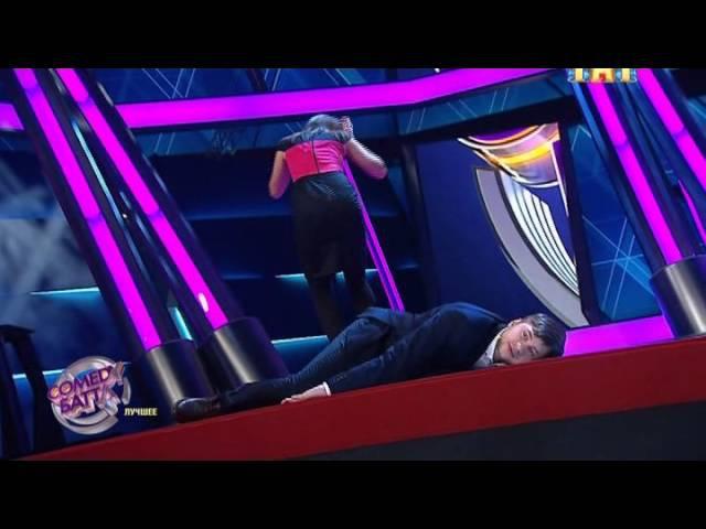 Алексей Шамутило и Юлия Капальницкая Comedy Battle 2015