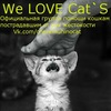 We ♥ Cat`s.Официальная группа помощи кошкам.