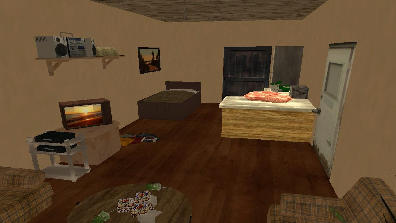 The Interior Is Simple In Design, This Time The Job For Long. Coordinates  For Teleport: 2483.471, 869.949,2882.813