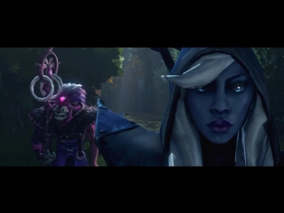 DotA 2 - TI5 Short Film Contest- Tiny protected Templar Assassin until he died