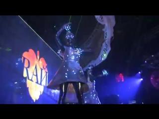Клуб РАЙ, улётная вечеринка, плюс лазерное шоу