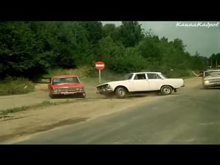 Погоня из фильма Невероятные приключения итальянцев в России (1973)