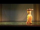 табла-соло, 2-е место,постановка Ясмин