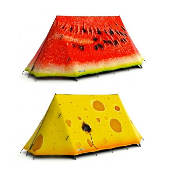 Современные креативные туристические палатки: