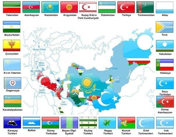 Türk Dünyası Nedir Ne Kadarlık Bir Coğrafyayı Kapsar