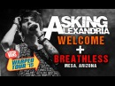 Asking Alexandria Welcome Breathless with Denis Stoff LIVE Vans Warped Tour 2015