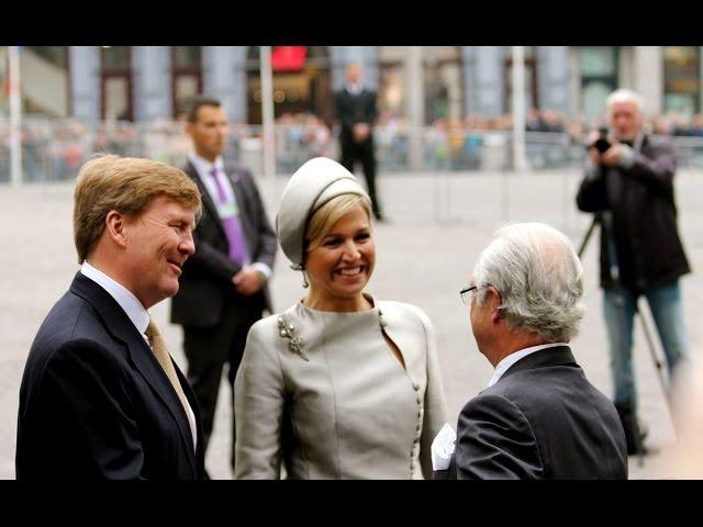 Staatsbezoek Zweden in Amsterdam 2014