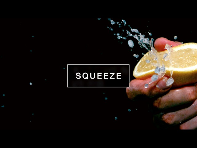 Slow Motion Food 1 : Squeeze   Kitchen Verb