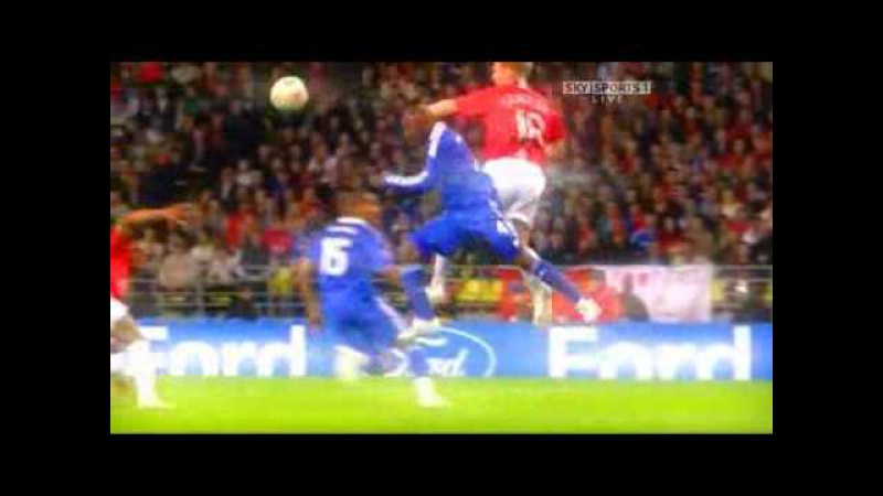 UEFA Champions League Final Moscow 2008 Manchester United vs Chelsea