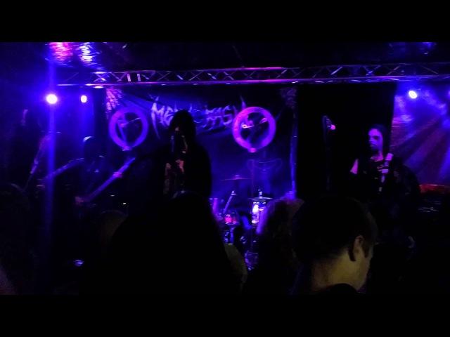Mephorash Live Atramentous Ungod Aspect feat Jonas Nord Nebiros Tengner @Inbreed Open Air