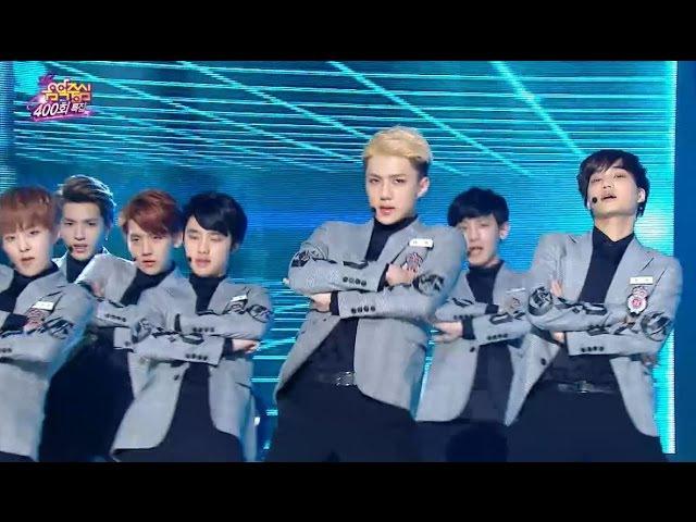 【TVPP】EXO - Sorry Sorry (Super Junior), 엑소 - 쏘리 쏘리 (슈퍼주니어) @ 400th Speical Show! Music Core Live