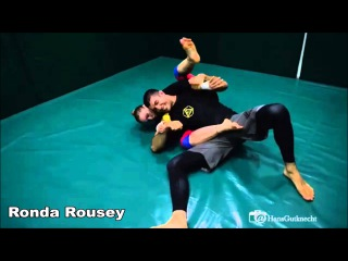 Ronda Rousey submits Rener Gracie ► HD