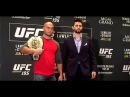 Robbie Lawler and Carlos Condit's First UFC 195 Face Off (Quick Hit)