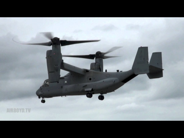 V-22 Osprey Demonstration - Farnborough Airshow