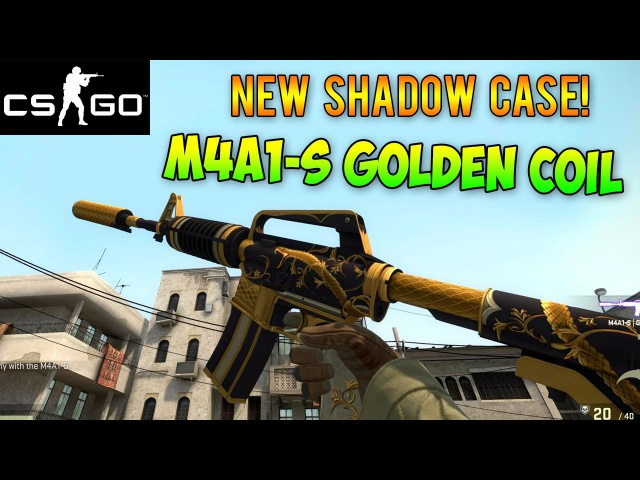 CS GO - M4A1-S Golden Coil Showcase! NEW Shadow Case Released!