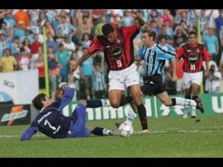 Grêmio 3 x 3 Atlético-PR - Brasileiro 2004 - Grêmio rebaixado à segunda divisão