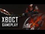 Dota 2 : NaVi XBOCT - Dragon Knight gameplay 16-0