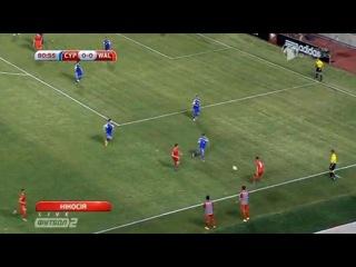 Гол Гарета Бейла - Кипр 0-1 Уэльс (03.09.2015) ЕВРО 2016 - Квалификация