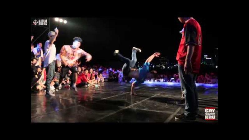 Bboy Kill (Gamblerz) - Recap / Ulsan Summer Warz Vol.7 / allthatbreak.com