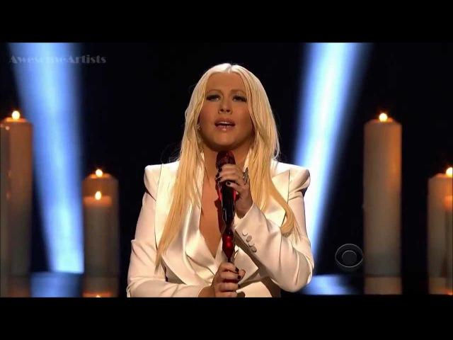 Christina Aguilera Blank Page Live HD PCA 2013 Premio