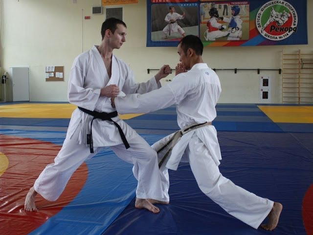 WKF Kumite Drills by George Kotaka (Fast Punching and Kicking Techniques). Seminar in Moscow 2010