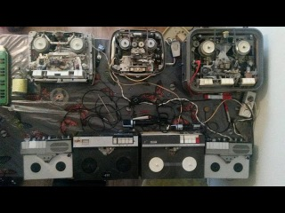 The art of trying to keep your Zen during tape recorder maintenance