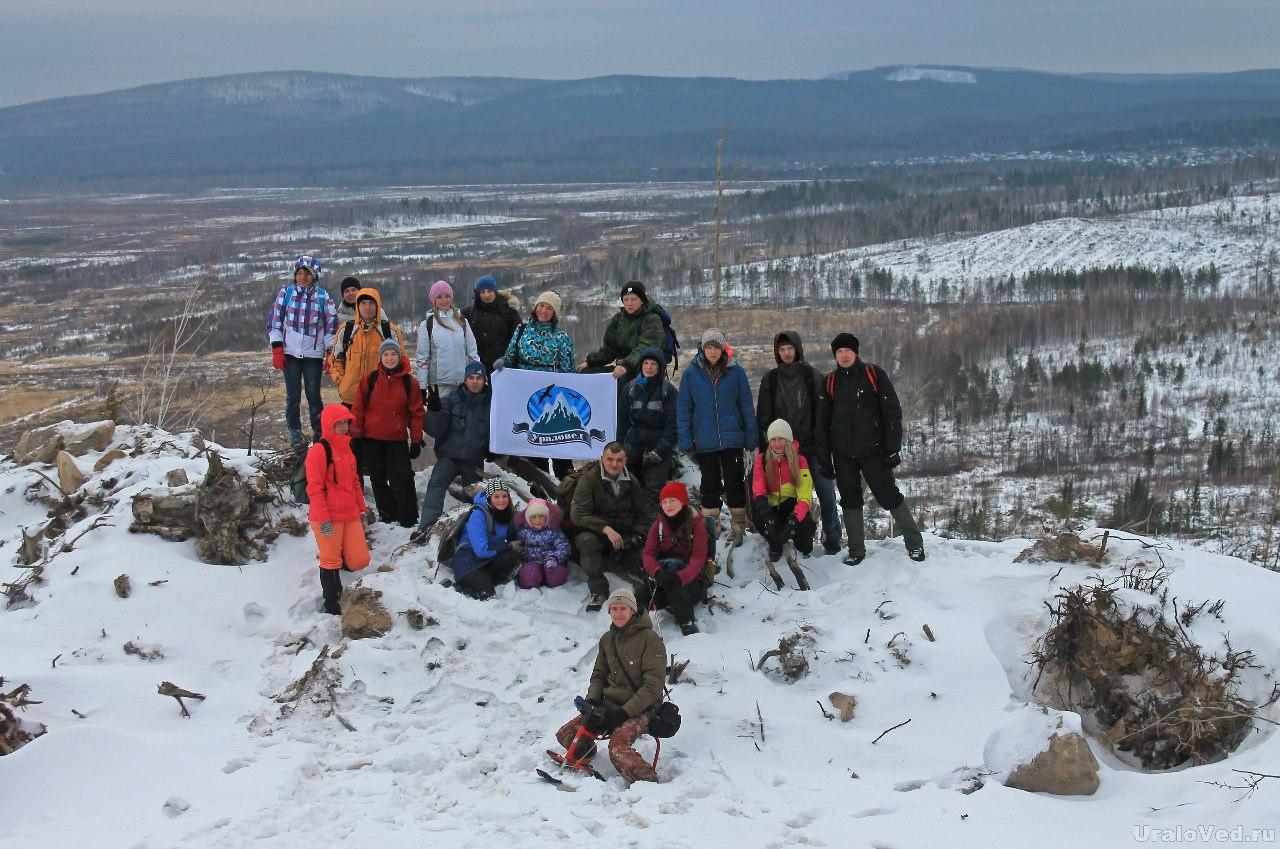 Участники поездки проекта Ураловед